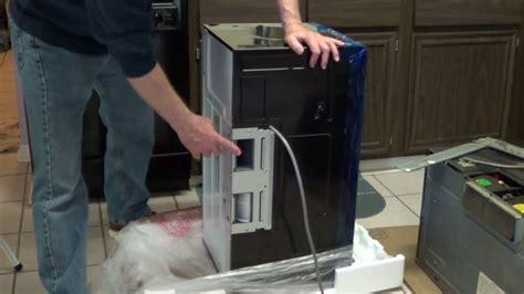 range microwave installation ge microwave youtube