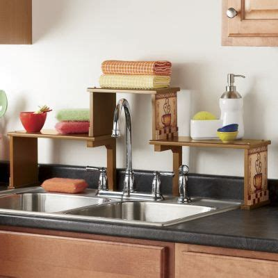over the sink shelf kitchen over the kitchen sink shelf clever crafts pinterest
