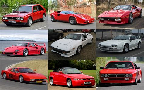 1980s Sports Cars by Italian Sports Cars Of 1980s Quiz By Alvir28