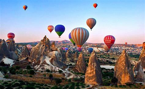 Twice In A Lifetime Hot Air Ballooning In Cappadocia As