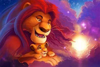 Sunset Deviantart Tsaoshin Lion Simba King Anime