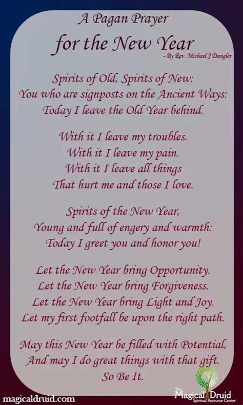 best prayers for welcoming a new year a cackle of witches