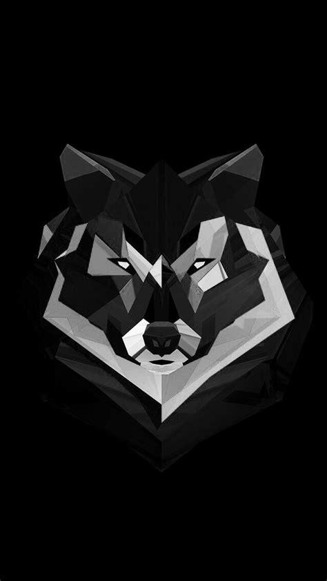 Geometric Wolf Phone Wallpaper by Geometric Wolf Tats 3d Wallpaper Background 3d