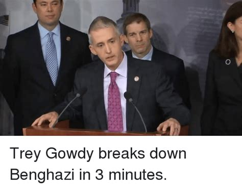 100 Memes In 3 Minutes - trey gowdy breaks down benghazi in 3 minutes meme on sizzle