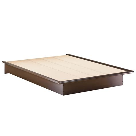 """South Shore Back Bay Queen Platform Bed (60"""") By Oj"""