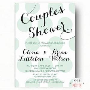 printable couples wedding shower invitations yourweek With co ed wedding shower