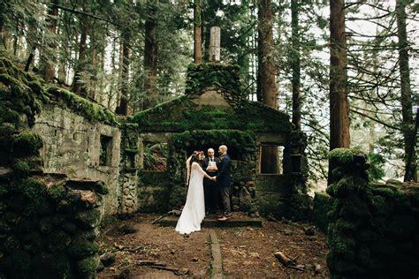 small wedding portland elopement