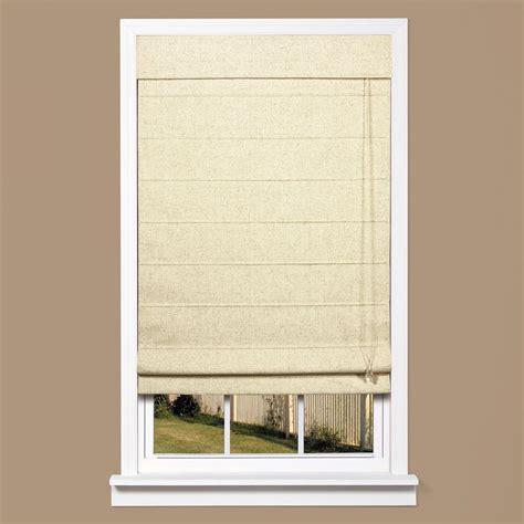 l shade fabric material homebasics natural linen look thermal blackout fabric