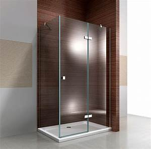 ensemble parois de douche dangle bernstein la boutique With porte de douche fixe