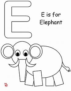Letter E Coloring Pages Only Coloring Pages
