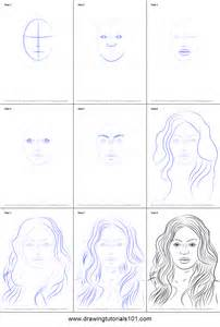 Steps How to Draw a Picture Beyonce