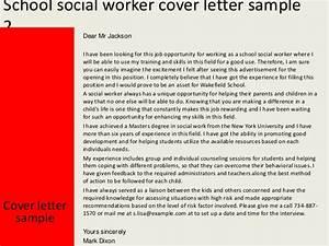 School Social Worker Cover Letter