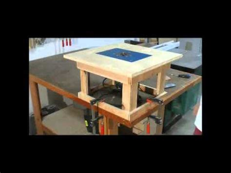 woodworking projects simple mobile router table cool  woodworking plans youtube