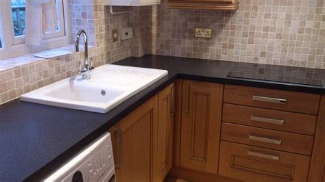 tiles for kitchen worktops kitchens dales knotty oak kitchen fitted in 6222