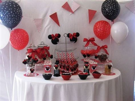 decoration bapteme fille minnie