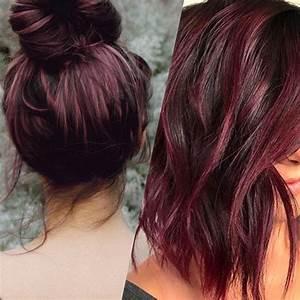 Couleur Cheveux Tendance : tendance cheveux la couleur vin chaud album photo ~ Nature-et-papiers.com Idées de Décoration