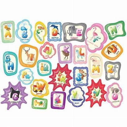 Alphabet Enfants Sticker Ambiance Mur Tester Couleur