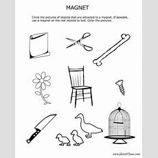 Magnetism Magnets Worksheet For 3rd And 4th Grade  Worksheets  Free Worksheets For Kids