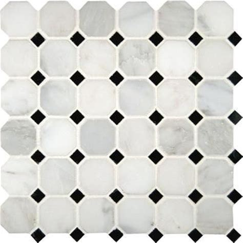 msi stone ulc greecian white octagon 2 in x 2 in