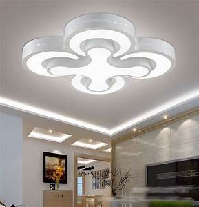 Modern led ceiling lights w bedroom lamps heads for