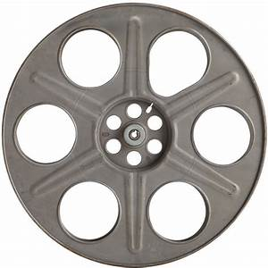 Classic Movie Reel Cut Out Wall Decal Vintage Style Home