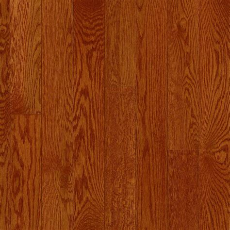 bruce floor bruce american originals ginger snap white oak 3 4 in t x 3 1 4 in w x varying l solid
