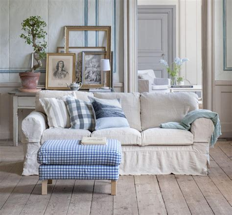 Country Style Loveseats by 20 Choices Of Blue Plaid Sofas Sofa Ideas