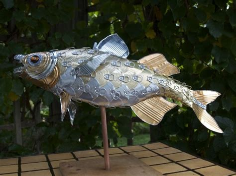 handmade perch fish sculpture  alanna baird custommadecom