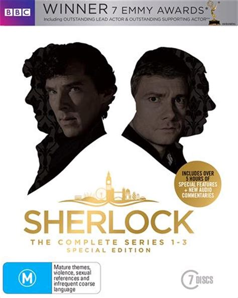 sherlock limited edition series bbc blu ray sanity