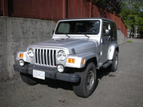 jeep wrangler tj rocky mountain edition silver jeeps canada jeep forums