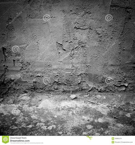 Dark Industrial Concrete Wall And Floor As Background