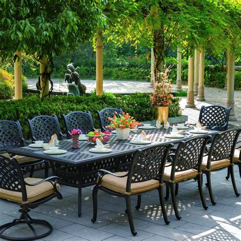 Darlee Nassau 11 Piece Cast Aluminum Patio Dining Set. Best Deals On Outdoor Patio Furniture. Patio Paver Depth. Round Paver Patio Kit. Diy Homemade Patio Furniture. Stone Backyard Patio. Outdoor Patio Accents. Backyard Patio Kits. Outdoor Patio Wall