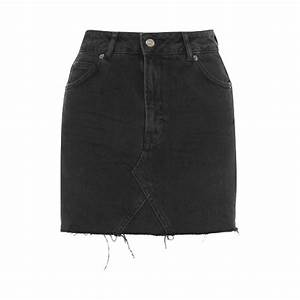 Mini Black Denim Skirt | Fashion Skirts
