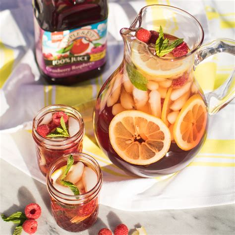 apple eve recipes sun steeped raspberry iced tea