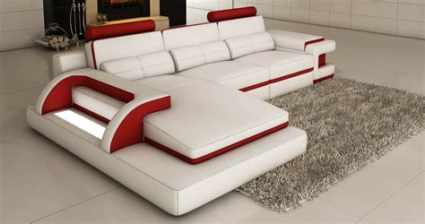 canape cuir but angle deco in canape d angle cuir blanc et design