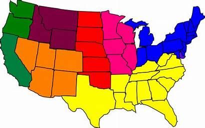 Region Clip Regions Regional America Clipart Cliparts