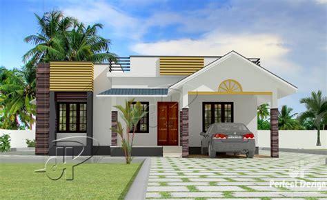 square feet  bedroom modern single floor home design