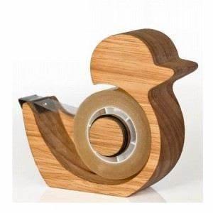 Dérouleur De Scotch : d rouleur adh sif bois ducky couleur bois achat vente ~ Edinachiropracticcenter.com Idées de Décoration