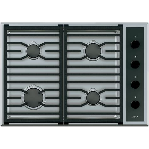 wolf gas cooktop cg304tswolf wolf 30 quot sealed burner gas cooktop cg304t s