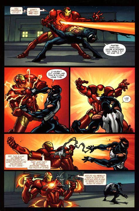 Hulk-Buster Iron Man (199999) vs Spider-Man (616