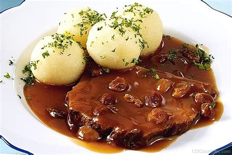 national cuisine of national dish sauerbraten of germany 123countries com
