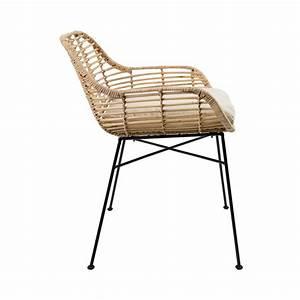 Fauteuil En Rotin : fauteuil en rotin tiger by drawer ~ Teatrodelosmanantiales.com Idées de Décoration