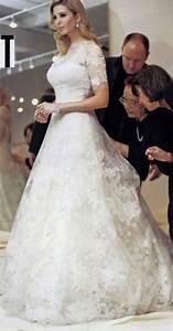 25 best ideas about ivanka trump wedding dress on With donald trump wife wedding dress