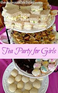 Spring Tea Party for Girls