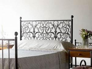 Tete De Lit En Fer Forgé : t te de lit eros en fer forg meuble design pour la chambre le monde du lit ~ Teatrodelosmanantiales.com Idées de Décoration