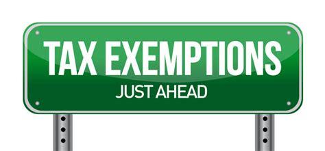 common  strange sales tax exemptions