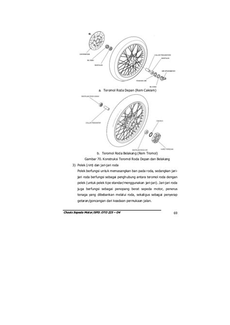 Modul teknologi sepeda motor (oto225 04)- chasis