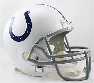 Indianapolis Colts Full Size Replica Football Helmet by ...