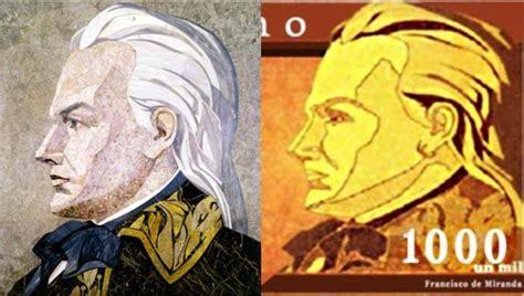 iconograf 237 a de francisco de miranda en los billetes venezolanos