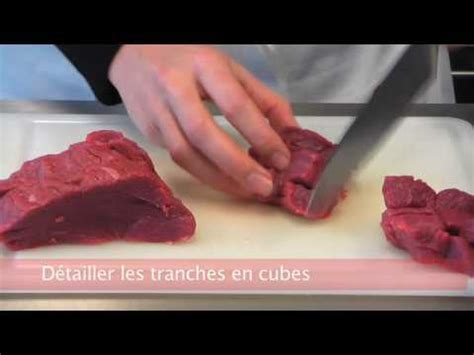 cuisiner futé hacher la viande tartare
